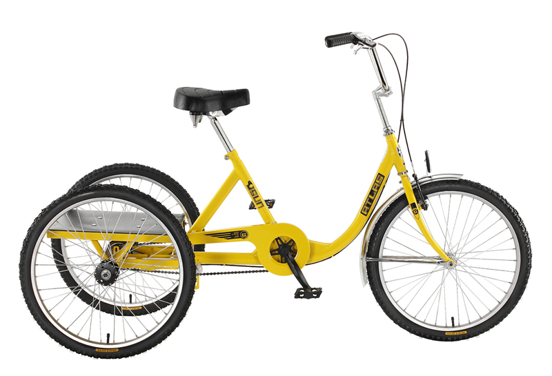 Sun Bicycles Atlas Cargo 24 Industrial Tricycle