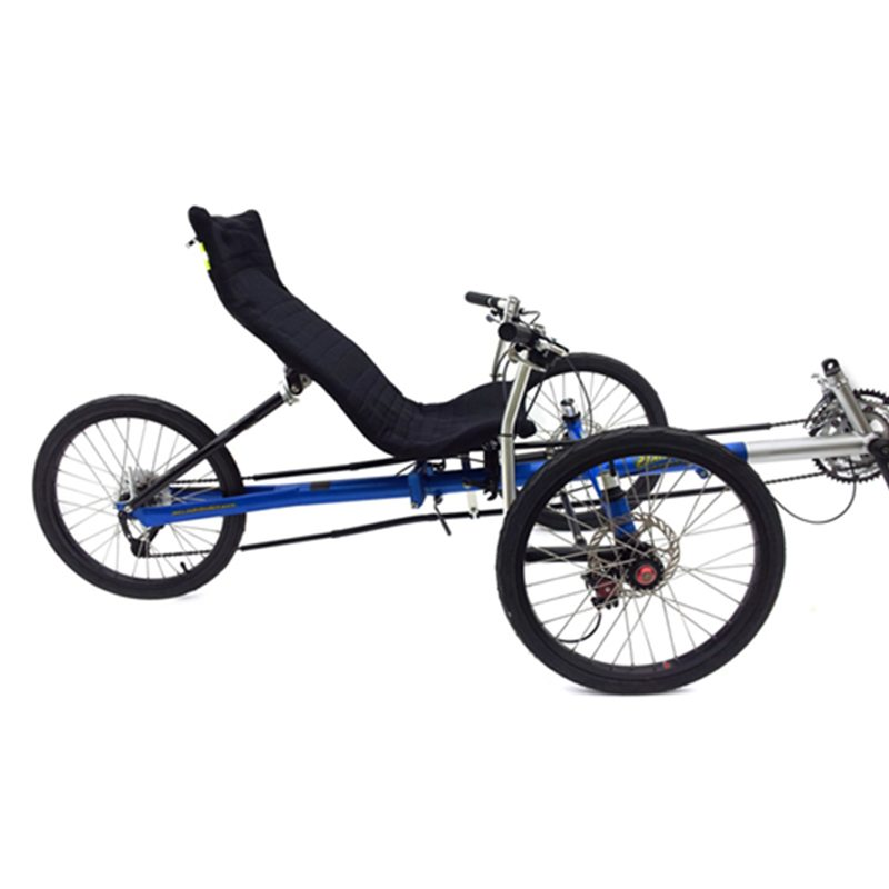 Trident Titan Recumbent Trike | Tricycle | Industrialbicycles com