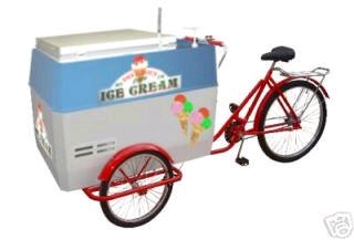 Ice Cream Tricycle Electric Freezer