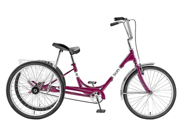 "Sun Traditional Trike 24"" Purple"