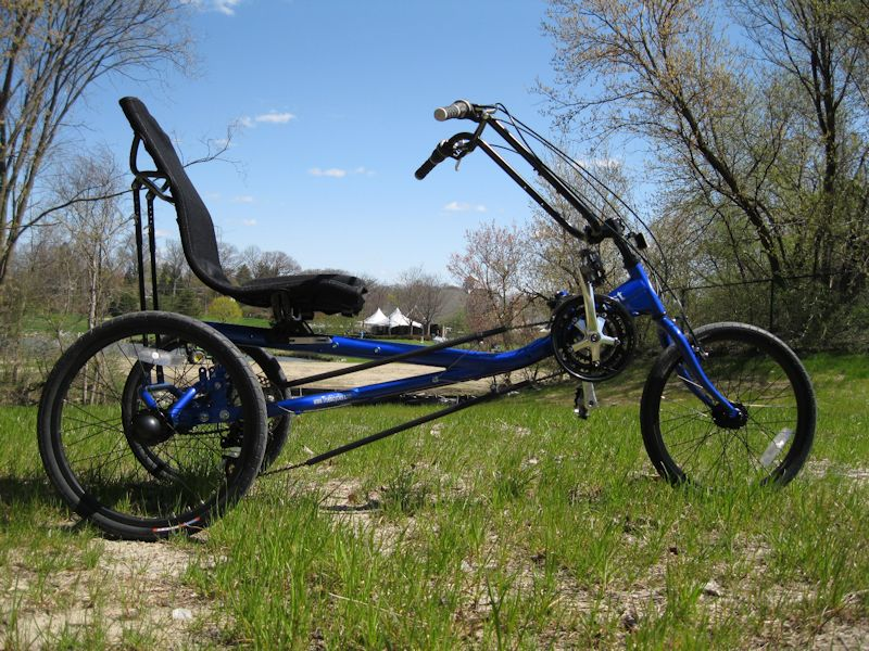 True Bicycles Quest Trike Blue