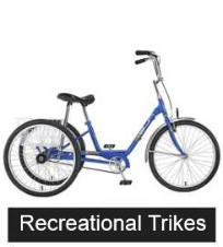 Different  Models of Recreational Trikes