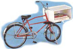 Worksman Pizza Delivery Bike