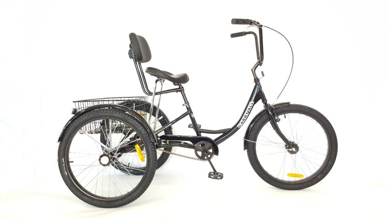 True Bicycles Carry All Comfort Trike