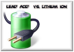The difference between lead acid and lithium ion battery