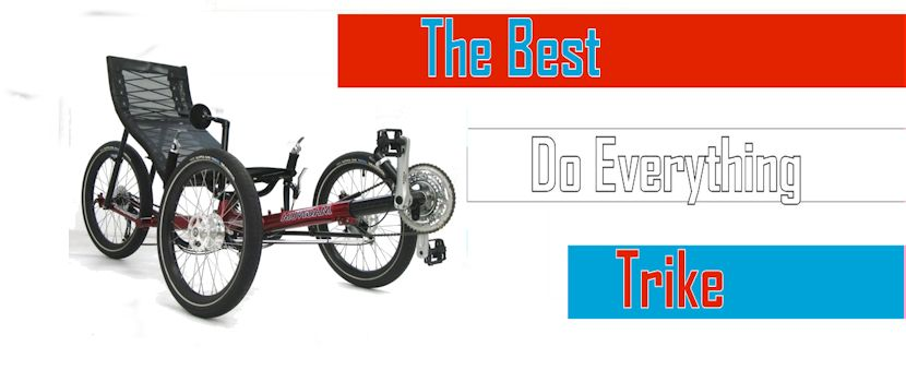 Greenspeed Magnum maybe the best all around trike on the market