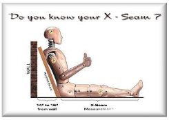 How to measure your x seam