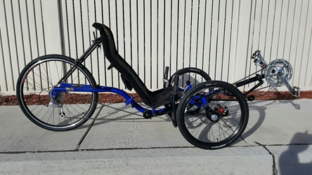 Demo TW-Bent Artifice Demo, TW-Bent, Artifice, Recumbent , Trike