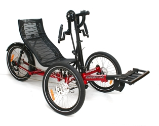 Greenspeed Handcycle Trike