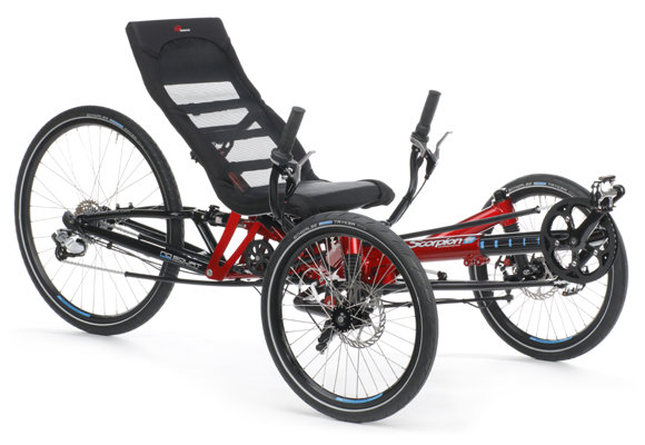 HP Velotechnik Scorpion FS 26 Plus Trike