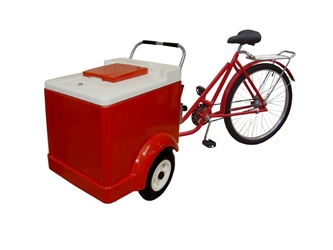 Ice Cream Trike 334TR With Hold Over Plates