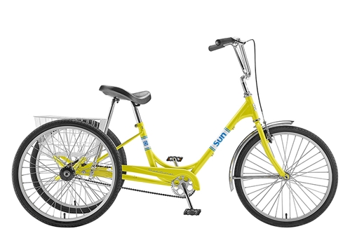 Sun Traditional TRike Yellow