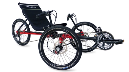 Terratrike Travler Folding Recumbent Trike