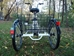 True Bicycles Fredom Electric Trike Basket