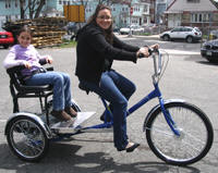 Worksman Family Single Chariot Trike