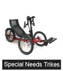 Different  Models of Special Needs Trikes