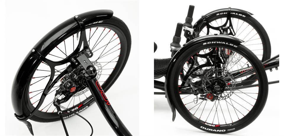ICE Trike Front Mudguards