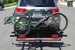Easy Load Tray Trike Carrier Easy Load Ramp System Trake Carrier