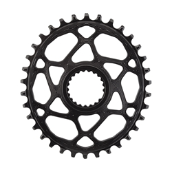 ABSOLUTE BLACK Oval Shimano Direct XTR