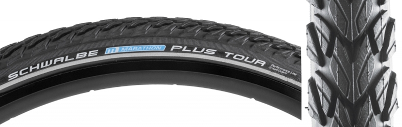SCHWALBE Marathon Plus Tour Performance Twin SmartGuard