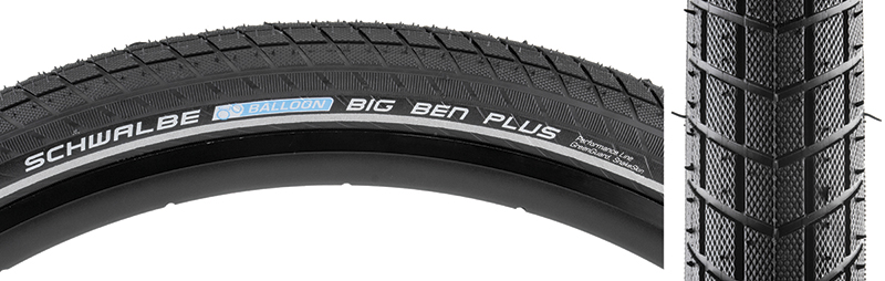 SCHWALBE Big Ben Plus GreenGuard SnakeSkin