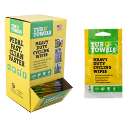 TUB O TOWELS Heavy Duty Cycling Wipes