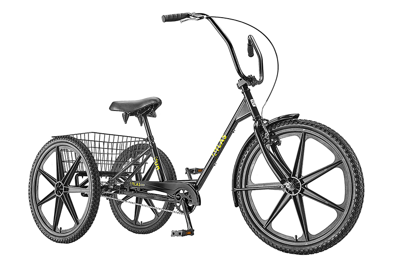Sun Bicycles Atlas Transit Industrial Tricycle - 6702055928767332