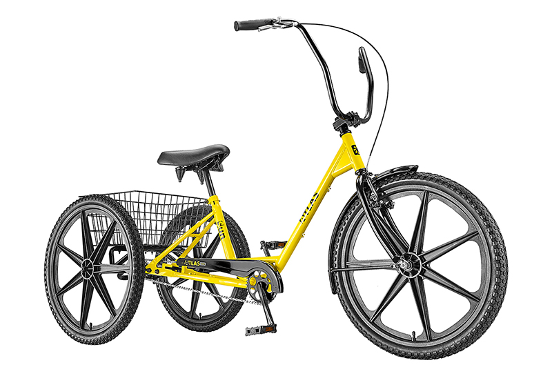 Sun Bicycles Atlas Transit Industrial Tricycle - 6702065928767332