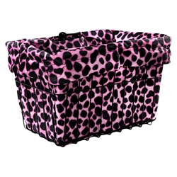 CRUISER CANDY Reversible Bike Basket Liner
